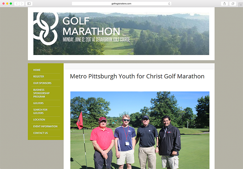 Beautiful Golf Marathon Websites