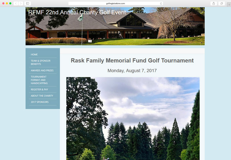 Impressive Golf Tournament Websites
