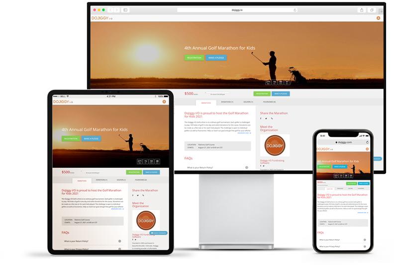 golf marathon websites